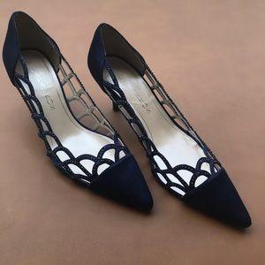 Navy Blue Caparros Heels Size 8.5B